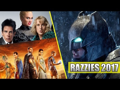 Who is getting a RAZZIE (Razzies 2017)???
