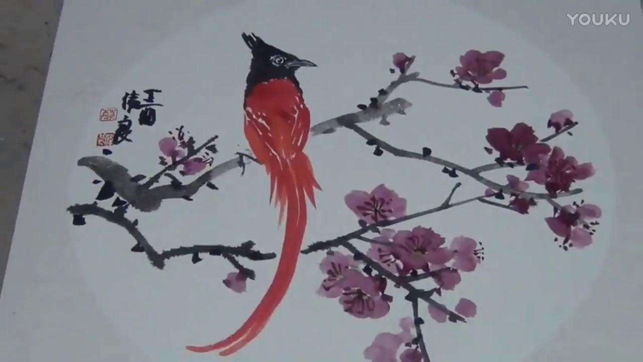 Traditional Chinese Painting , Flower \u0026 Bird Painting