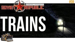 TRAINS : Workers & Resources Soviet Republic thumbnail