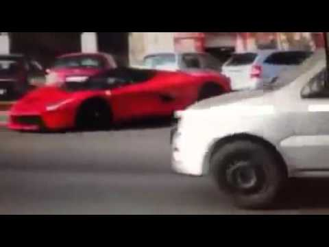 Váci út, La Ferrari Crash
