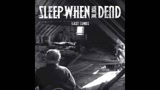 Sleep When You're Dead - Bust At the Chino
