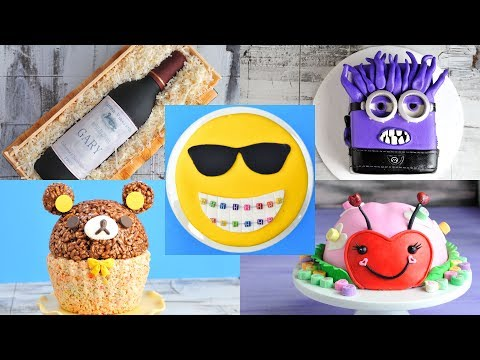 AMAZING CAKES : RILAKKUMA, LADYBUG, WINE BOTTLE, EVIL MINION by HANIELA'S