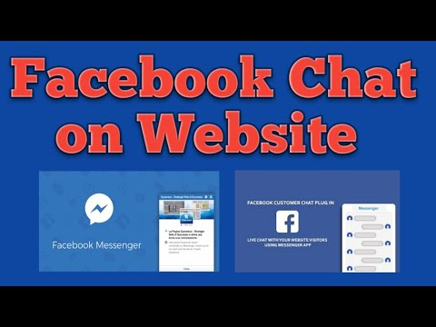 Facebook Chat Plugin On Website