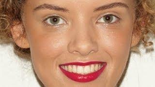 Hot pink lipstick Thumbnail