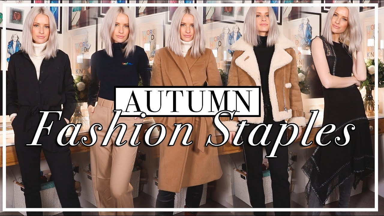 10 FALL WINTER FASHION STAPLES TO HAVE IN YOUR WARDROBE