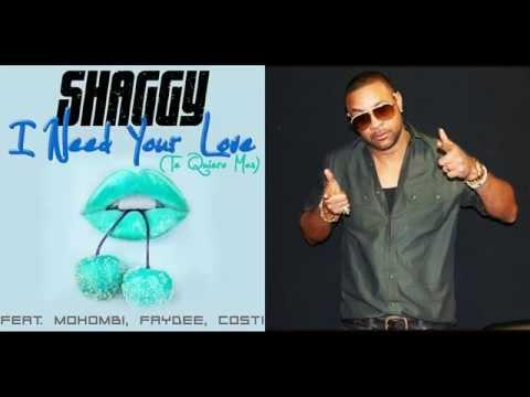 Shaggy - Te Quiero Mas (Audio) ft. Mohombi , Faydee & Costi [Spanish Version]