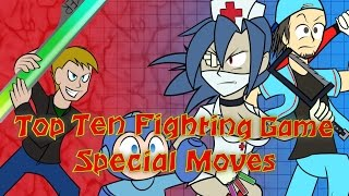 Top Ten Fighting Game Special Moves