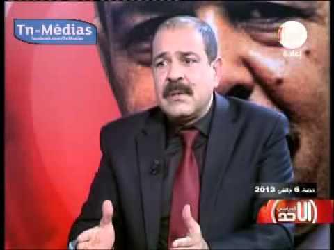 Chokri Belaid l'invité de l'émission  le dimanche politique  le 01 06 2013