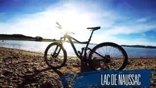Lac de Naussac - VTT - Parcours VTT-FFC 7 Circuit du tour du lac
