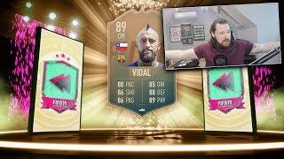 INSANE 89 FLASHBACK VIDAL! - FIFA 19 Ultimate Team