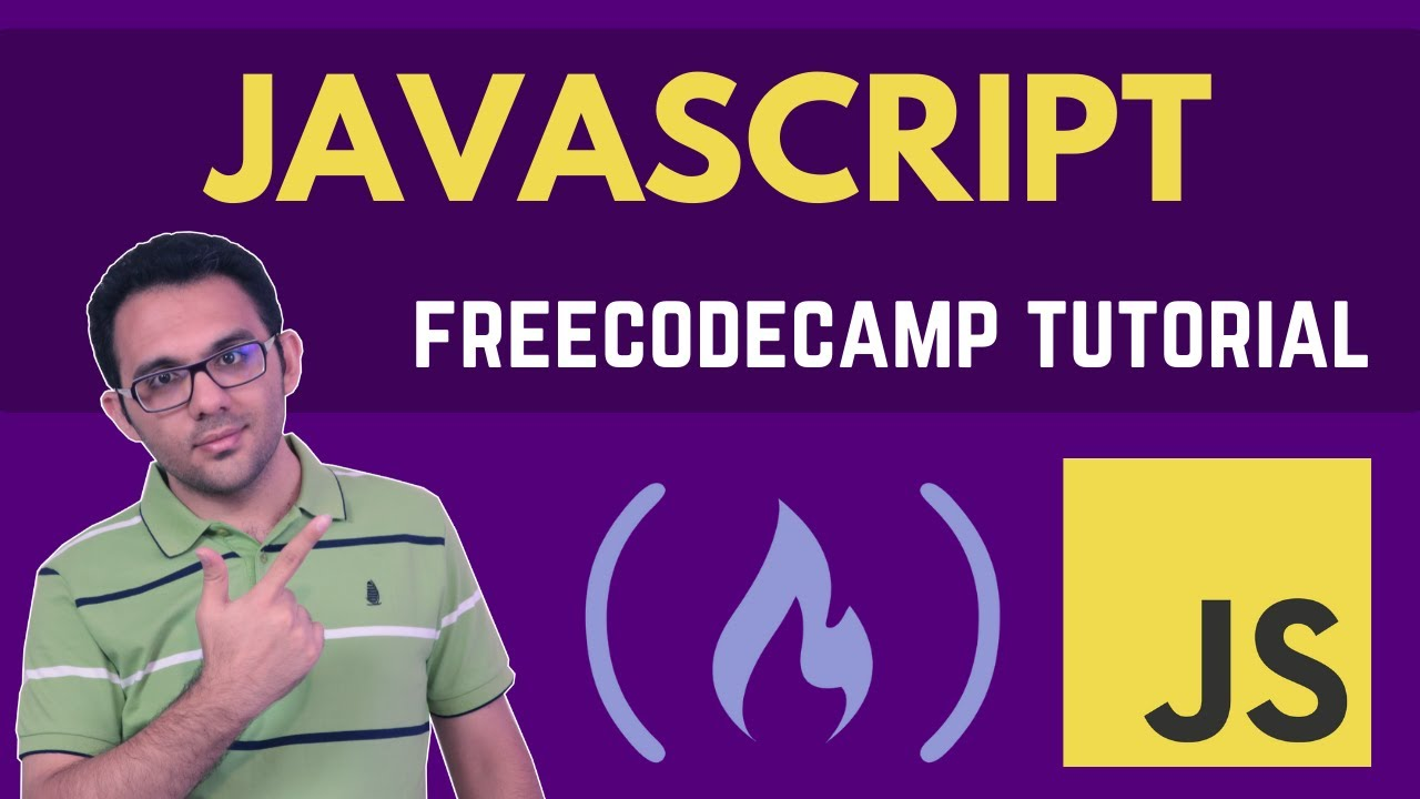 FreeCodeCamp JavaScript Tutorial - Learn JavaScript for web development