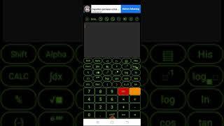 Belajar matematik dengan hiedu scientific calculator screenshot 5