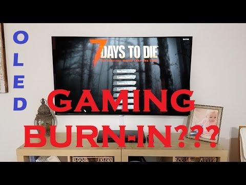 OLED55B6P - OLED Gaming Burn In?