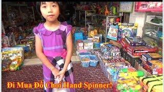 Bé Đi Mua Đồ Chơi - Thanh Băng Đi Mua Hand spinner, Mua Heo Đất- Mua đồ chơi câu cá.