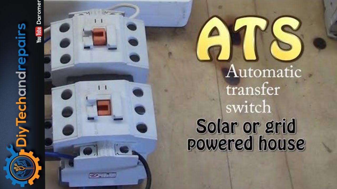 Automatic transfer switch setup and quick look at 3 types  YouTube