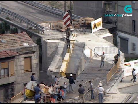 "Obras de demolición do ""Scalextric"" de Vigo en 1986"