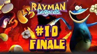 Rayman Legends Wii U - (2048p) Co Op - Part 10 - FINALE