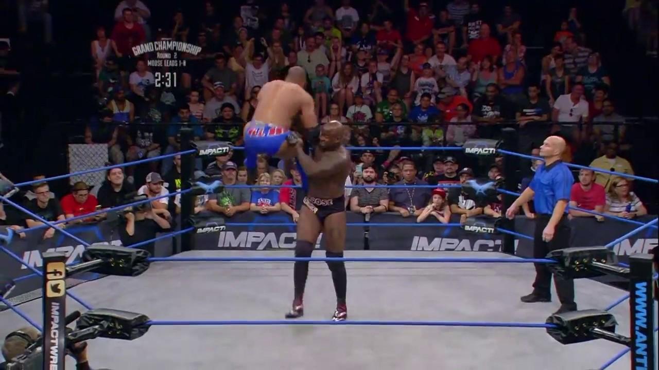 Impact Wrestling Moose Finisher
