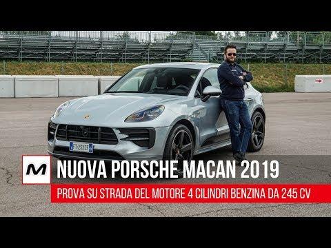 Nuova Porsche Macan 2019   Prova su strada del nuovo 2000 benzina da 245 Cv