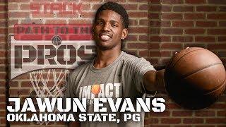 2017 NBA Path to the Pros: Jawun Evans, Oklahoma State PG