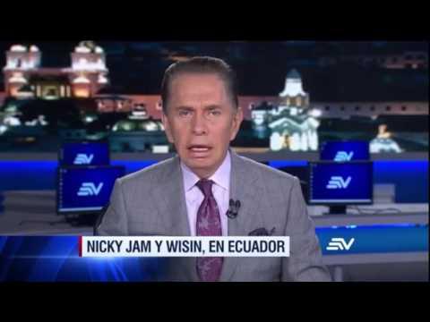 Nicky Jam & Wisin-Si tu la vez (Noticias Ecuador)