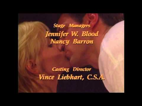 As the World Turns long closing credits 1995 (with cast and crew, HD)