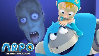 Arpo the Robot | ZOMBIE ATTACK! +MORE FULL EPISODES | Compilation | Funny Cartoons for Kids