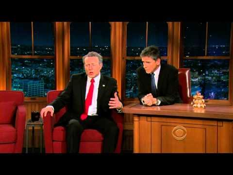 Late Late Show with Craig Ferguson 11/11/2009 Kenneth Branagh, The Swell Season