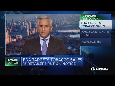 FDA has power to pressure companies in vaping crackdown: Doctor