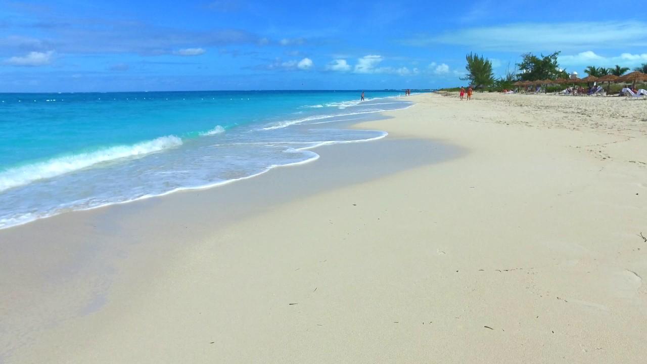 A Walk On Grace Bay Beach Turks And Caicos