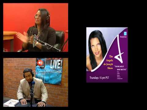 The Angela de Joseph Show - Inaugural Broadcast LIVE NOW! 5-2-13