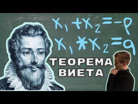 Теорема Виета. Как с помощью теоремы Виета найти корни квадратного уравнения
