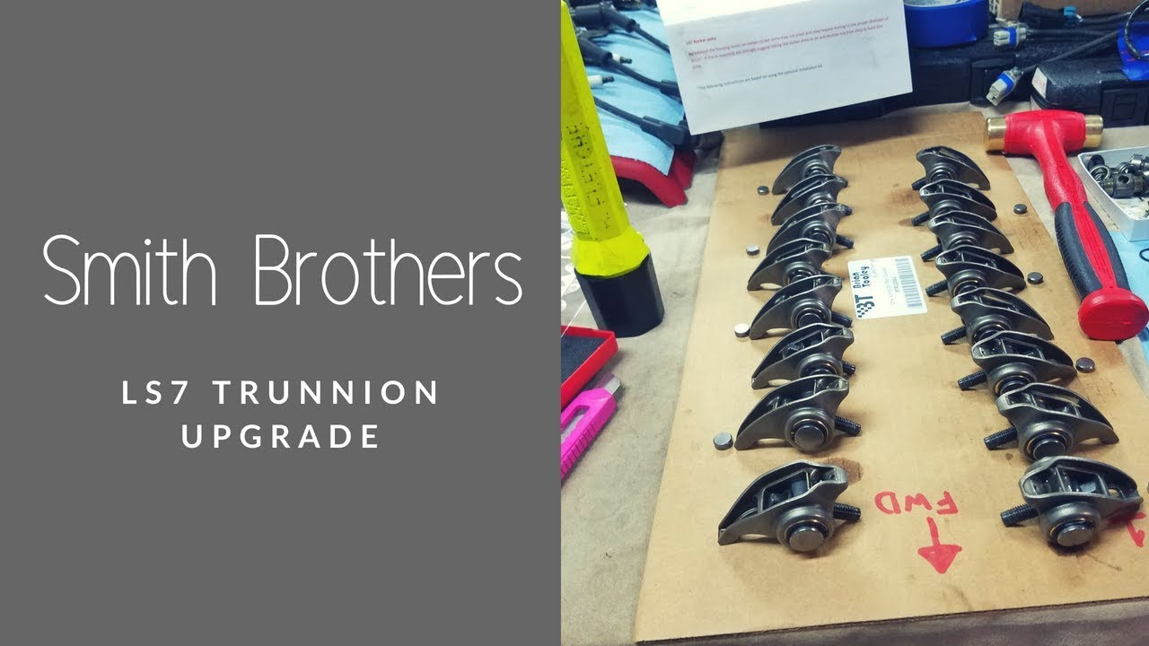 LS Engine Trunnion Upgrade Kit Smith Brothers Pushrods