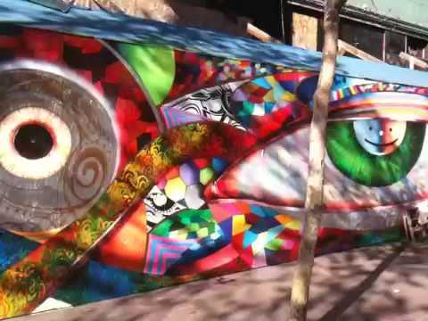 Chor Boogie mural