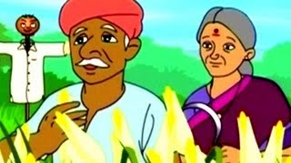 Moral Stories - Kheto Mein Chupa Dhan - Hindi Animation