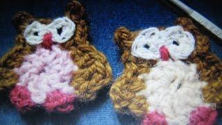 Вяжем сову крючком - часть 1