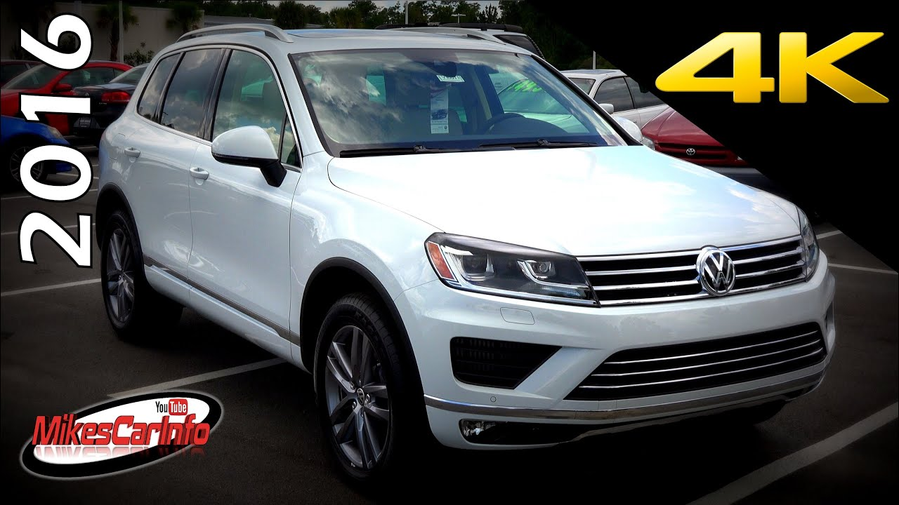 2016 volkswagen touareg tdi lux ultimate in depth look in 4k youtube. Black Bedroom Furniture Sets. Home Design Ideas