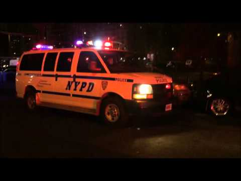 NYPD RESPONDING TO & ON SCENE OF A URGENT 10-13 CALL FOR  2 NYPD OFFICERS SHOT IN BRONX, NYC.