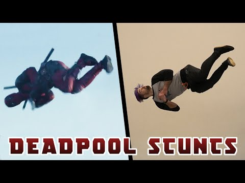 Stunts From Deadpool In Real Life (Parkour)