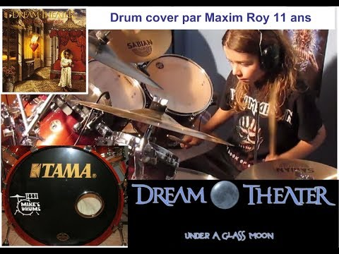 Dream Theater - Under a glass moon - drum cover