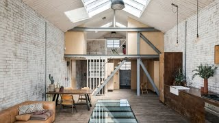 Interior Design | Industrial Warehouse Converted In Beautiful Modern Home London