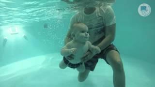 Грудничковое плавание в ТоТо (Федор, 10 месяцев)