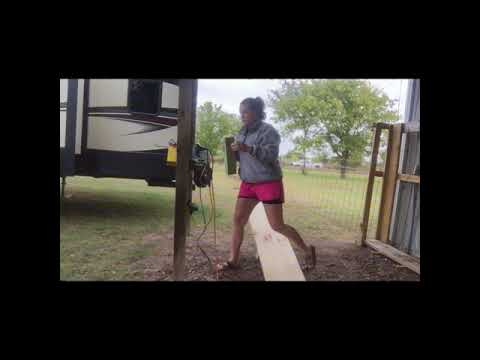 RV bed queen to king conversion