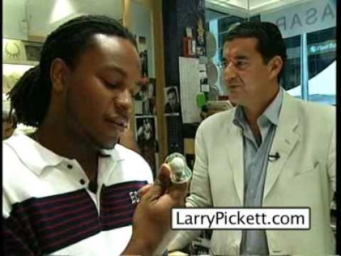 Jacob the Jeweler talks with Larry Pickett at his New York Headquarters (LarryPickett.com)