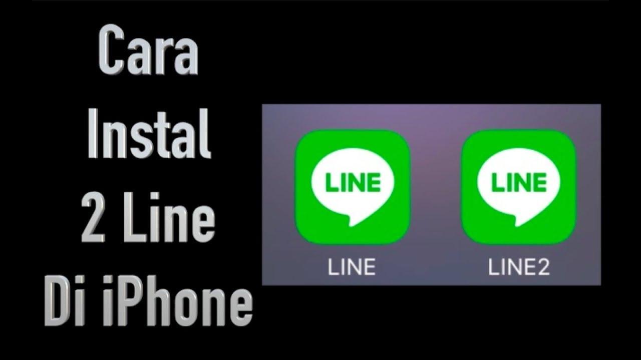 Cara Instal 2 Line Di iPhone tanpa Jailbreak