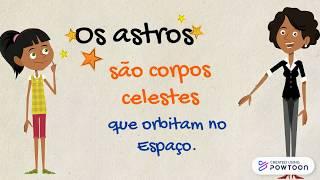 Os astros - 3º ano