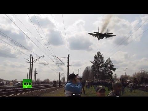 Украинский МиГ пытался