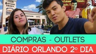 DIÁRIO DE ORLANDO #02 - COMPRAS OUTLET PREMIUM + ROSS + TARGET + MCDONALD