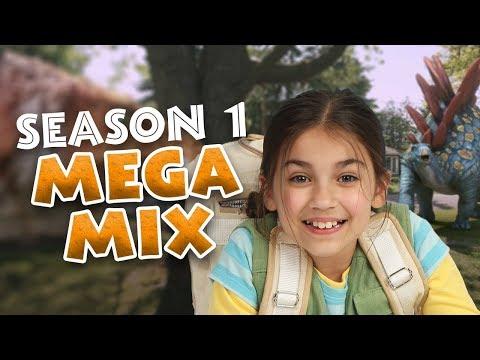 Dino Dana: Season 1 Clip Megamix