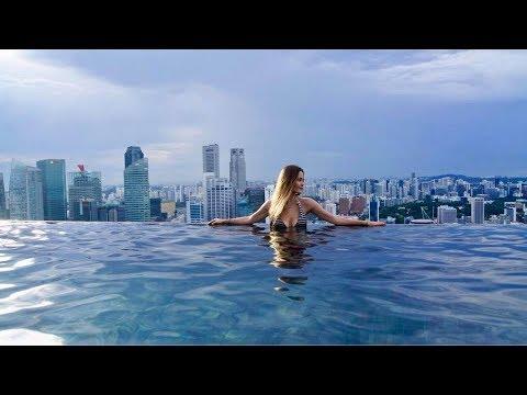 GoPro Hero 6 4K in Singapore Thailand Malaysia Marina Bay Sands Phi Phi with Gopro Karma Grip